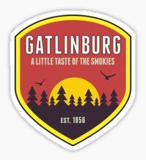 GATLINBURG TENNESSEE MOUNTAIN ART Sticker
