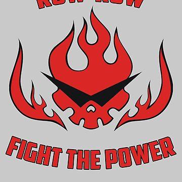 Gurren Lagann - Fight The Power by mozarella-tees