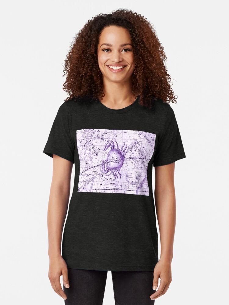 Alternative Ansicht von Astrologie in Lila Vintage T-Shirt