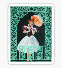 Tightrope Walk - The Haunted Mansion Sticker