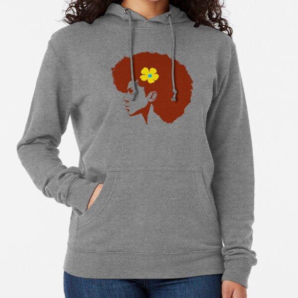 The Yellow Flower  Lightweight Hoodie