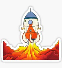 Pikmin - S.S. Dolphin Liftoff Sticker