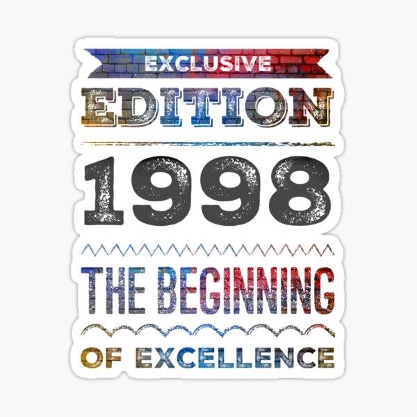 1998 Legends Born  Sticker