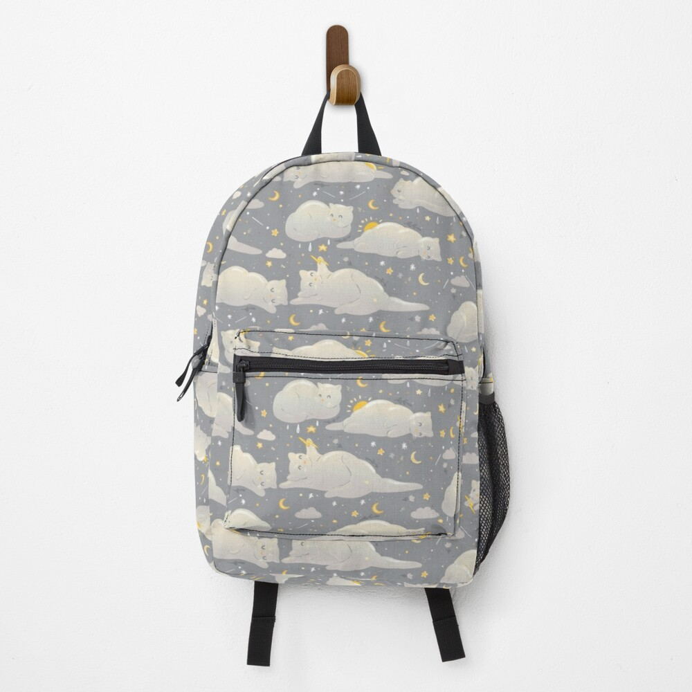 Kitty clouds  Backpack