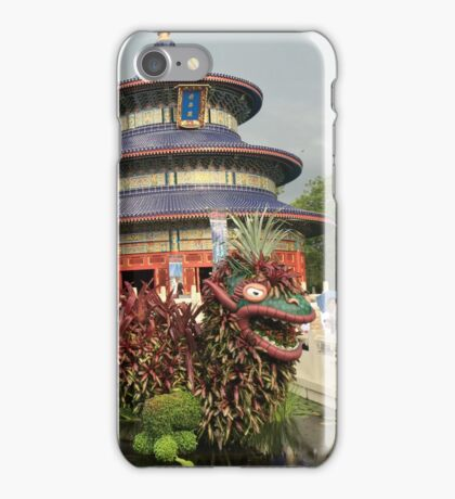 Lucky Dragon Topiary iPhone Case/Skin