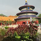 Lucky Dragon Topiary by fairielights