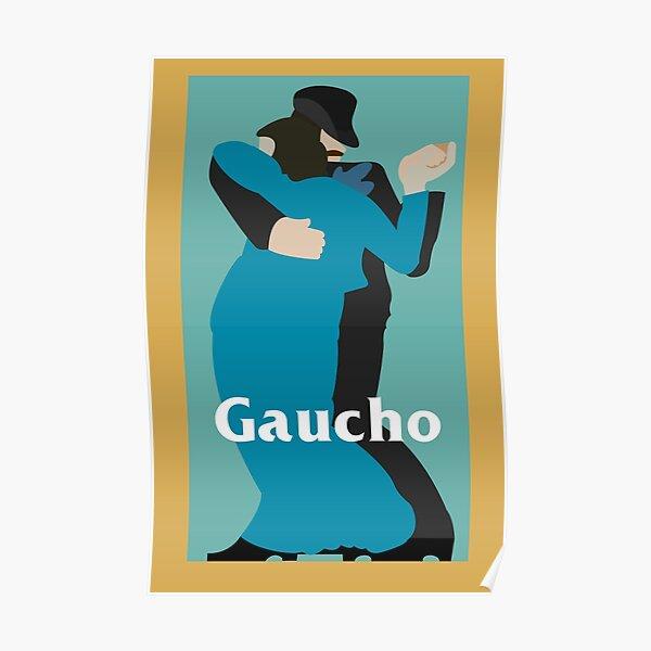 """Steely Dan """"Gaucho"""" Album Art Poster"""
