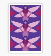 Purple Fairies Sticker
