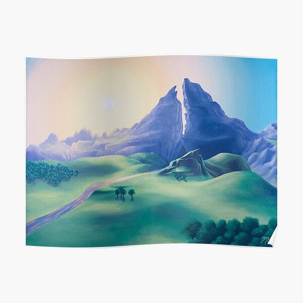 Dueling Peaks Poster