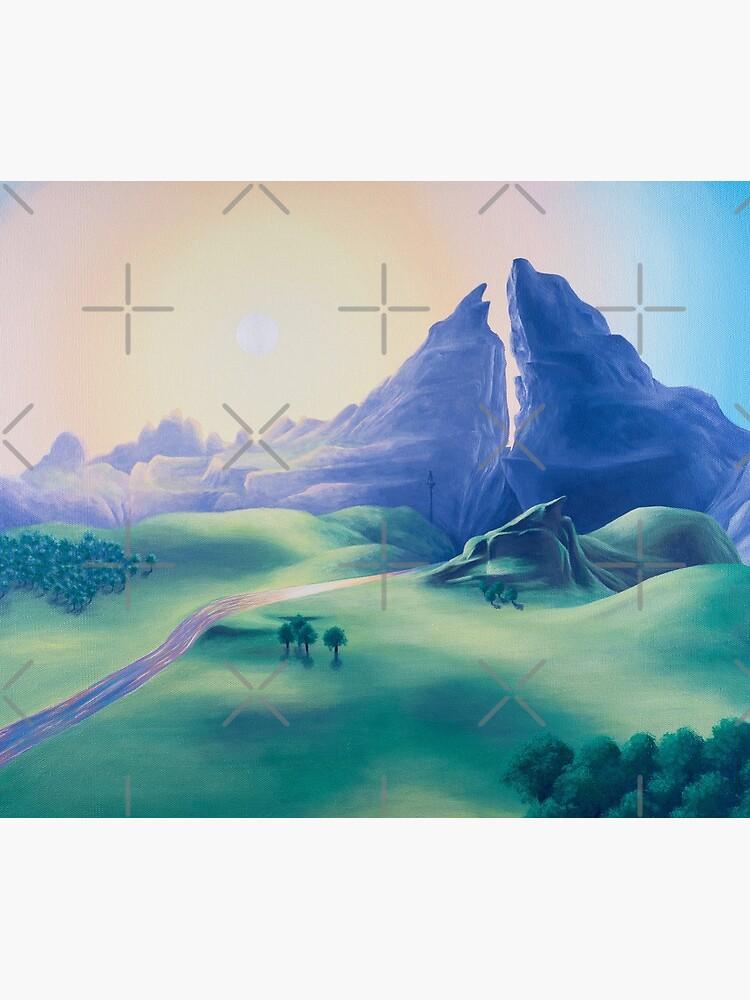 Dueling Peaks by MalMakes