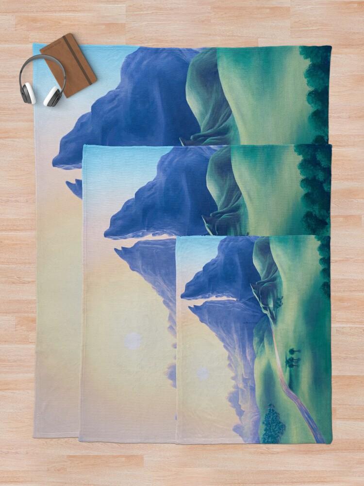 Alternate view of Dueling Peaks Throw Blanket