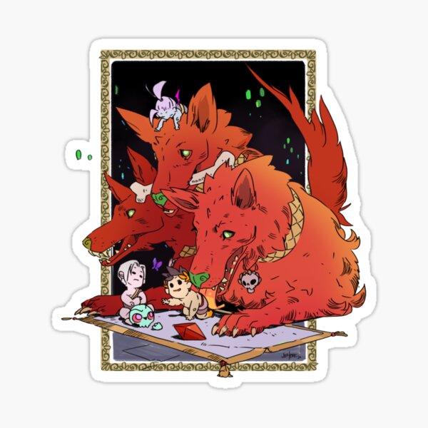 Cerberus Hades Game Sticker