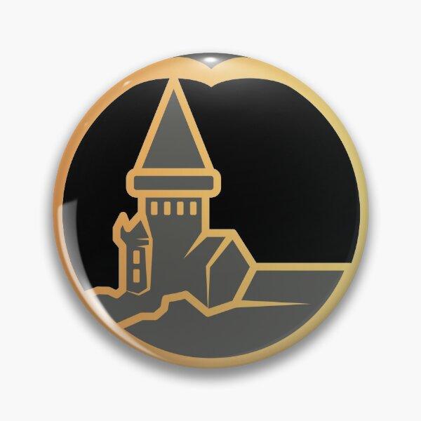 Clé serpent de chateau enchanté - doré noir Badge