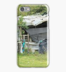Bamboo and Plastic Shelter iPhone Case/Skin