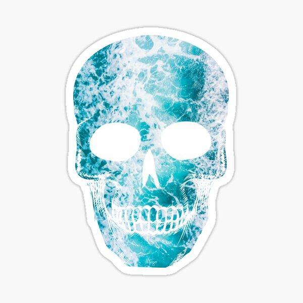 Salty skull design Sticker