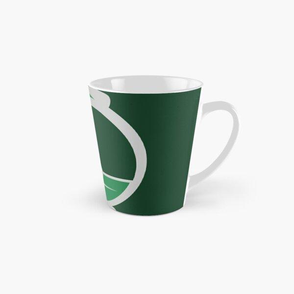 Clé serpent de chateau enchanté - argenté vert Mug long