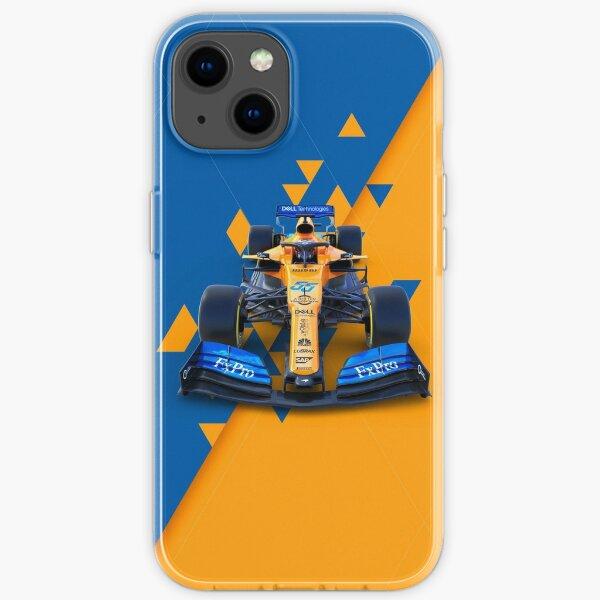 McLaren Racing car logo iPhone Soft Case