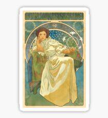 Princezna Nouveau Sticker