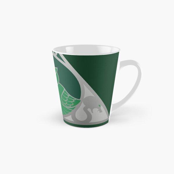 Relique hibou et serpent - argenté vert Mug long
