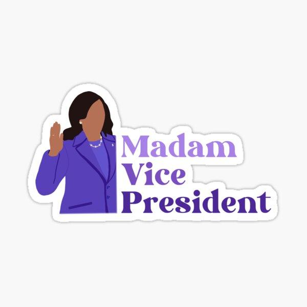 Madam Vice President Kamala Harris Inauguration  Sticker
