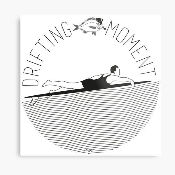 Drifting moment disego Metal Print