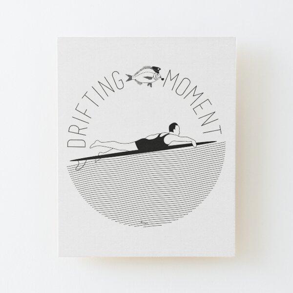 Drifting moment disego Wood Mounted Print