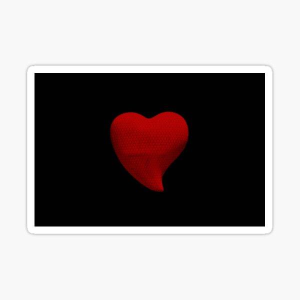 Coeur Rouge Sticker