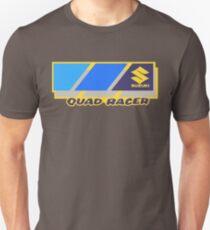 1980's Suzuki Quad Racer Reproduction Print  Unisex T-Shirt