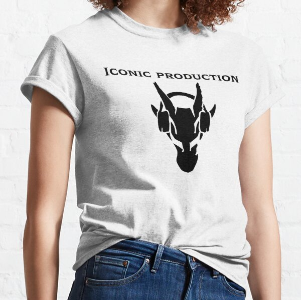 Iconic Production & Logo in Black Classic T-Shirt