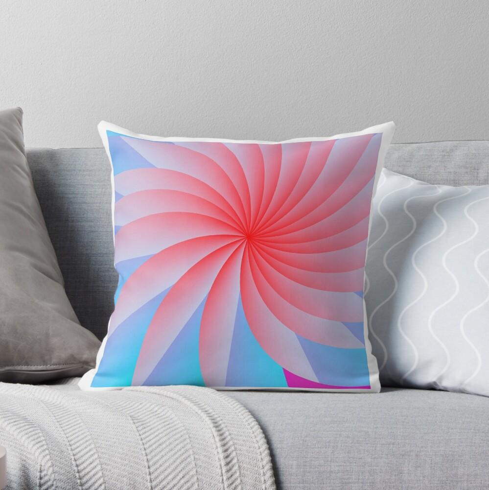 Pink Pillow Posse Throw Pillow