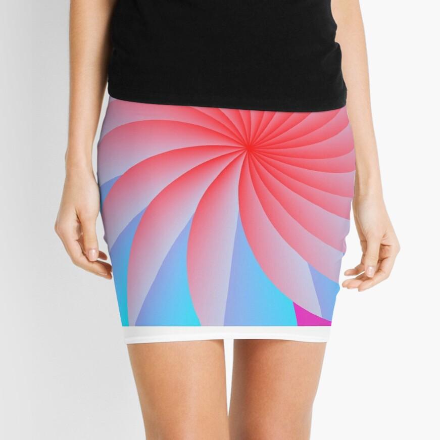 Pink Pillow Posse Mini Skirt