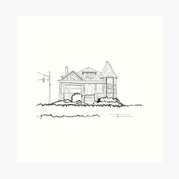2021 01 building Art Print