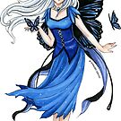 Little Blue Diadem by meredithdillman