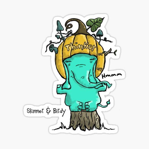 Skimmer Thinker Sticker