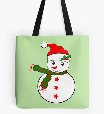 Snowman  ( 2408 views) Tote Bag