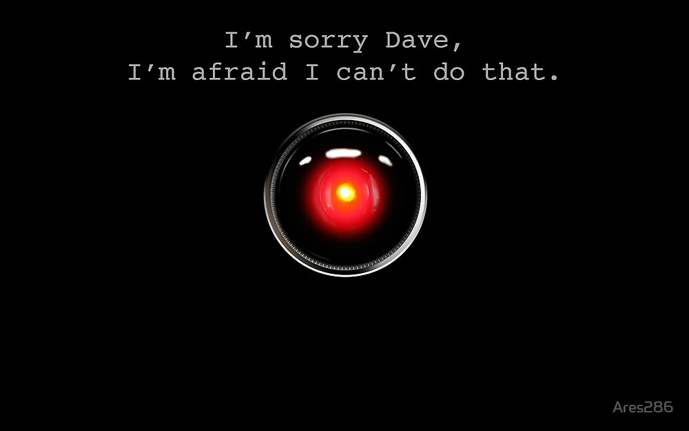 I'm Sorry Dave - A Space Odyssey by Ares286