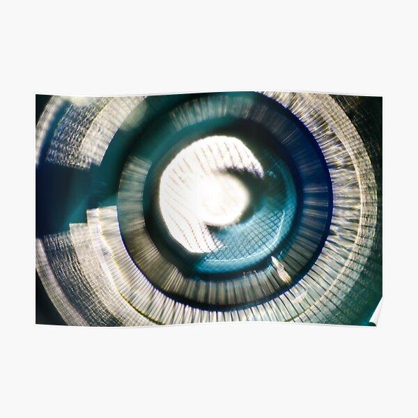 Glass Iris v2 Poster