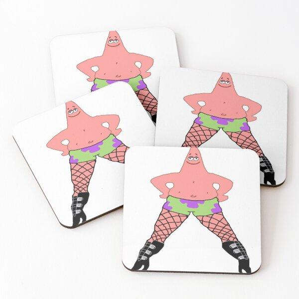 Patrick in Heels Coasters (Set of 4)
