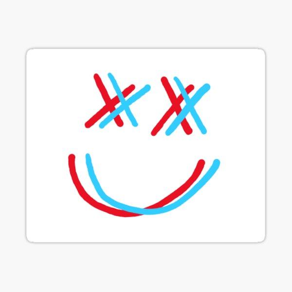 cara sonriente Pegatina