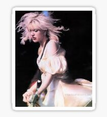 Courtney Love On Stage Sticker