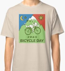 Bicycle Day T-shirt - 1943 Vintage (Albert Hofmann LSD) Classic T-Shirt