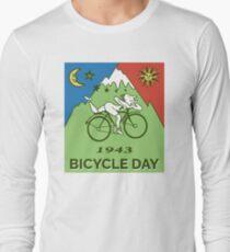 Bicycle Day T-shirt - 1943 Vintage (Albert Hofmann LSD) Long Sleeve T-Shirt