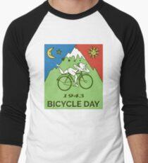 Bicycle Day T-shirt - 1943 Vintage (Albert Hofmann LSD) Men's Baseball ¾ T-Shirt
