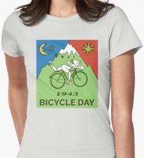 Bicycle Day T-shirt - 1943 Vintage (Albert Hofmann LSD) Women's Fitted T-Shirt