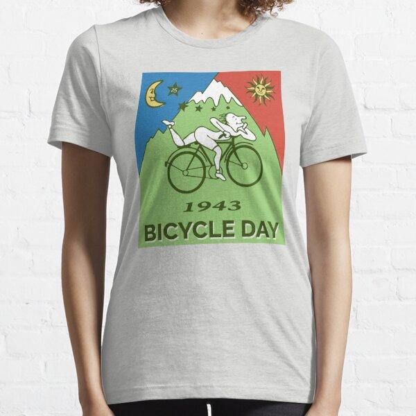 Bicycle Day T-shirt - 1943 Vintage (Albert Hofmann LSD) Essential T-Shirt