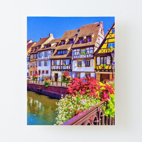 Villages d'Alsace, Alsace, France Impression montée sur toile
