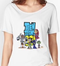 Teen Titans Go! Women's Relaxed Fit T-Shirt