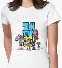 Teen Titans Go! Women's Fitted T-Shirt
