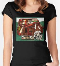 Antique Lures & Creel Women's Fitted Scoop T-Shirt