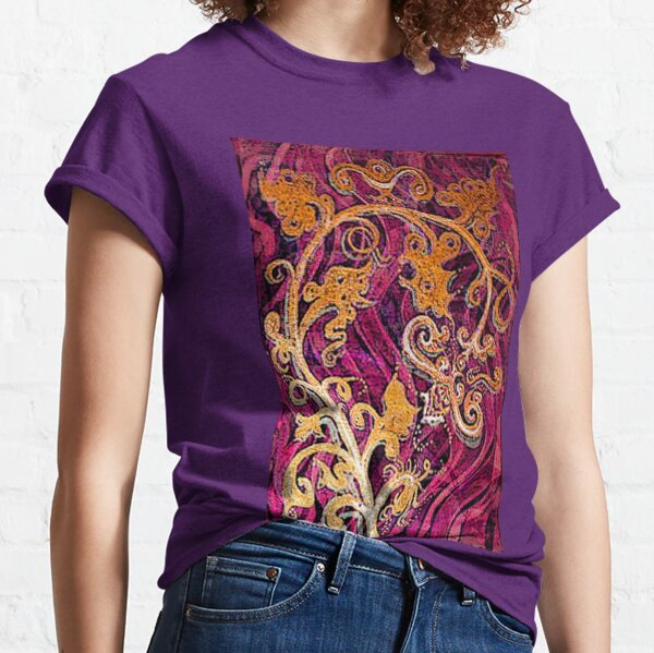 Thai Patterns an acrylic painting Classic T-Shirt